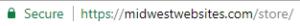 Midwest Websites Store URL